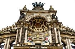 德累斯顿歌剧 库存照片