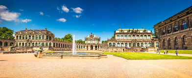 德累斯顿,德国古城 免版税图库摄影