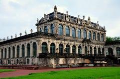 德累斯顿,德国:Zwinger宫殿 免版税库存图片