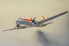 德累斯顿,德国- MAI 2015年:客机伊柳申IL-14P 免版税图库摄影