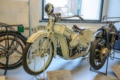 德累斯顿,德国- MAI 2015年:摩托车火星A 20 1922年在德累斯顿 图库摄影