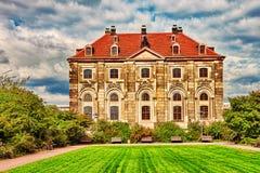 德累斯顿, GERMANY-SEPTEMBER 08日2015年:德累斯顿老T的中心 免版税库存图片
