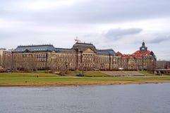 德累斯顿-易北河,德国 免版税图库摄影
