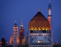 德累斯顿Citycape  免版税库存图片