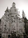 德累斯顿frauenkirche德国 库存照片
