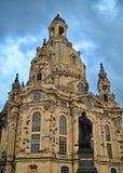 德累斯顿frauenkirche 免版税库存照片