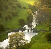 德贝郡地区英国国家公园峰顶 图库摄影