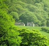 德贝郡地区英国马特洛克国家公园峰&# 免版税库存图片
