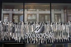 徽标符号swarovski 免版税库存图片
