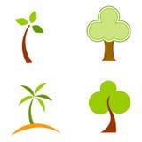 徽标结构树 免版税库存图片