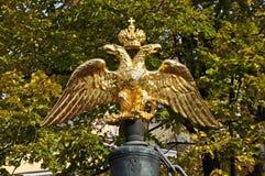 徽章俄罗斯帝国的 库存图片