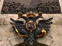 徽章俄罗斯联邦的 库存照片
