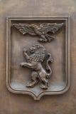 徽章别尔哥罗德州市 库存图片