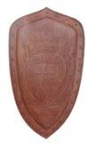 徽章圣马力诺的生锈的盾的 图库摄影