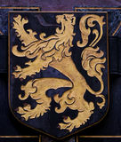 徽章富兰德的 免版税库存图片