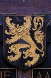 徽章富兰德的 免版税图库摄影