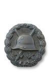 徽章护胸甲德国使受伤的wwi 免版税库存照片