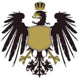 徽章普鲁士的 库存图片
