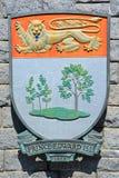 徽章爱德华王子岛的 免版税库存照片