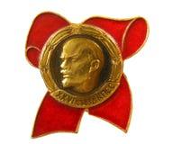 徽章苏维埃 库存图片