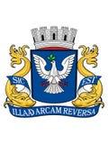 徽章萨尔瓦多的  皇族释放例证