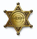 徽章警察 库存图片