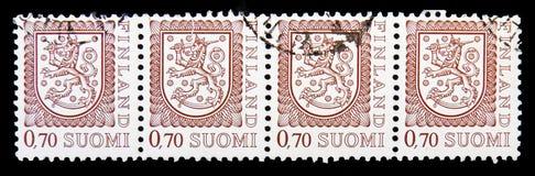 徽章, serie,大约1975年 库存图片