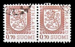 徽章, serie,大约1975年 免版税库存图片