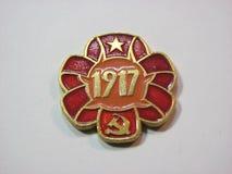 1917徽章 库存图片