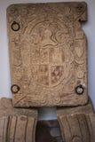 徽章Moctezuma 免版税库存照片