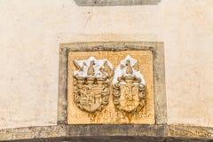 徽章Varazdin县的 图库摄影