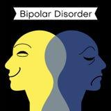 心境障碍 人格分裂 精神双极性障碍的头脑 双重个性概念 皇族释放例证