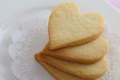 心形的曲奇饼 库存图片