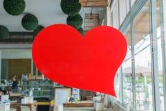心形的红色 免版税图库摄影