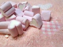 心形的蛋白软糖 免版税库存图片
