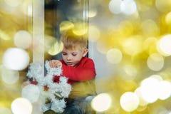 心情新年度 免版税库存照片