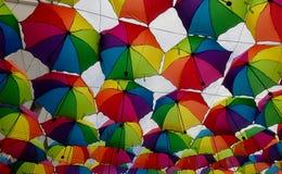 心情,色的天空 免版税库存照片
