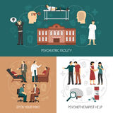 心理学家设计观念 向量例证
