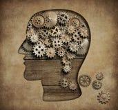 心理学概念3d例证 皇族释放例证