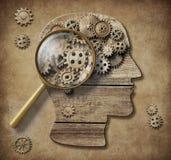 心理学概念3d例证 向量例证