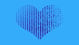 心脏中间影调形状  Duotone背景 时髦synthwave计算机国际庞克梯度设计 皇族释放例证