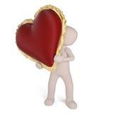 心脏为情人节 免版税库存照片