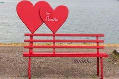 心脏为情人节 库存图片