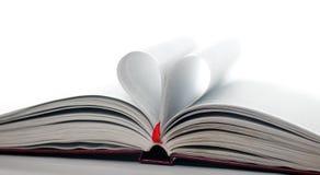 心脏书 库存图片