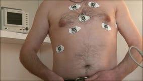 心脏传感器的考试设施 影视素材