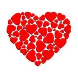 心脏传染媒介设计 图库摄影