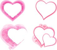 心脏元素设计 免版税库存图片