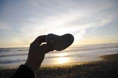 心脏岩石 免版税库存照片