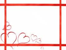 5心脏平的框架 图库摄影