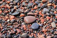 心脏形状石头 免版税库存图片